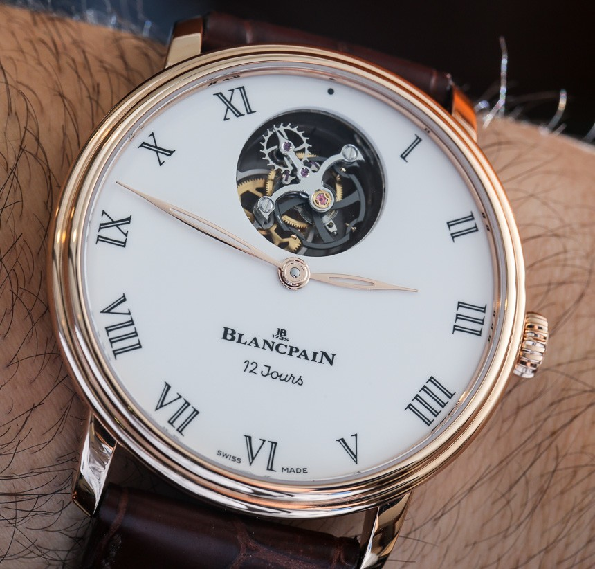 Blancpain Villeret Tourbillon Volant Une Minute 12 Jours Watch Hands-On Hands-On