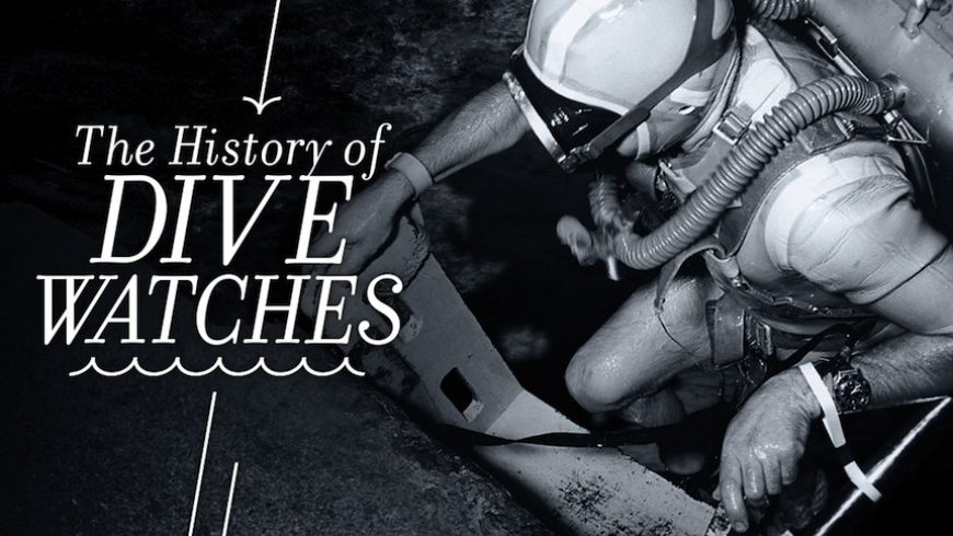 The History Of Dive Watches Replica For Sale