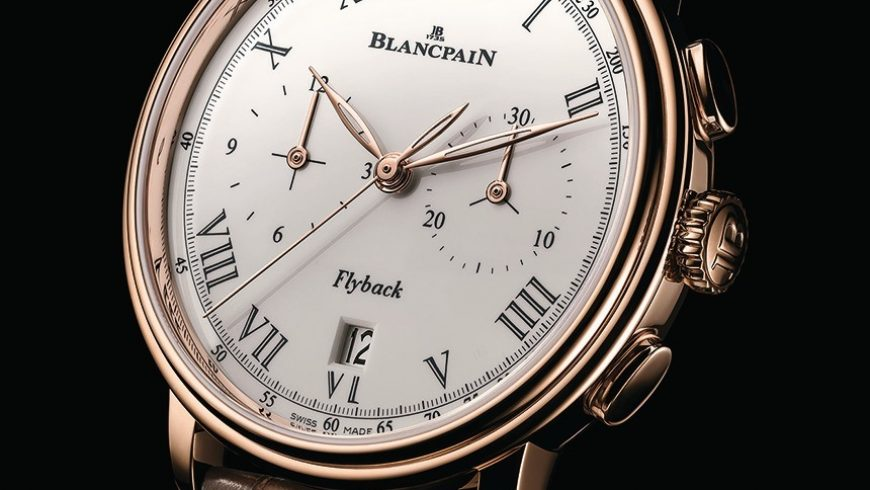 Blancpain Villeret Pulsometer Flyback Chronograph Watch Swiss Movement Replica Watches