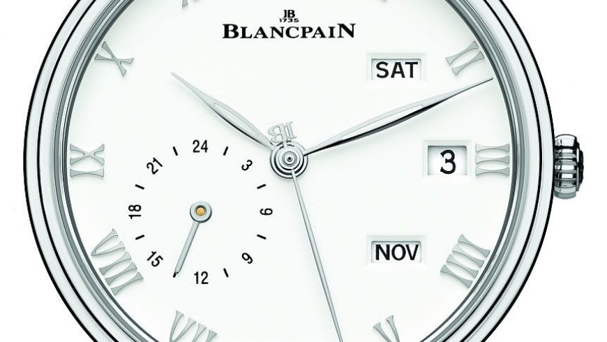 Blancpain Villeret Quantième Annuel GMT Watch Replica Watches Essentials