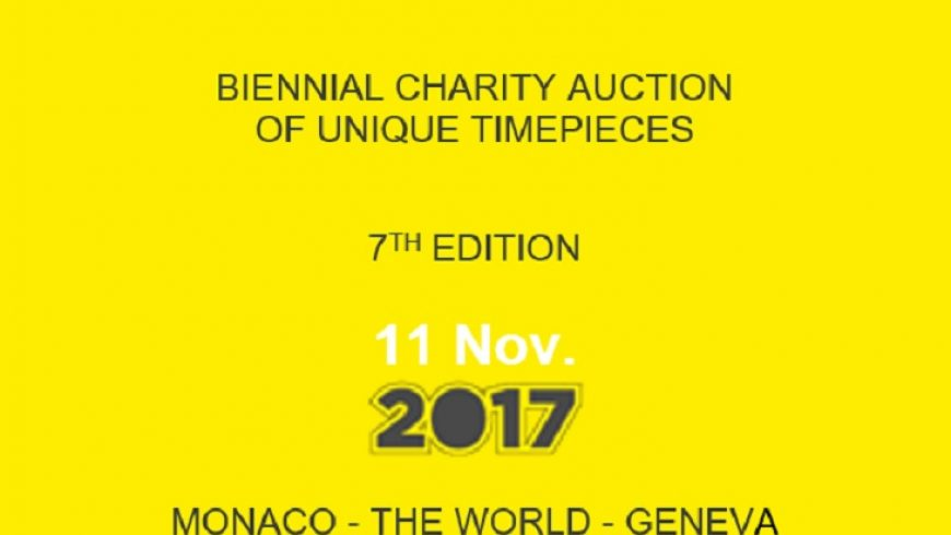 Our Take On Your Timepieces To Be Performed In The Simply Watch 2017 Charity Auction Replica Wholesale Center