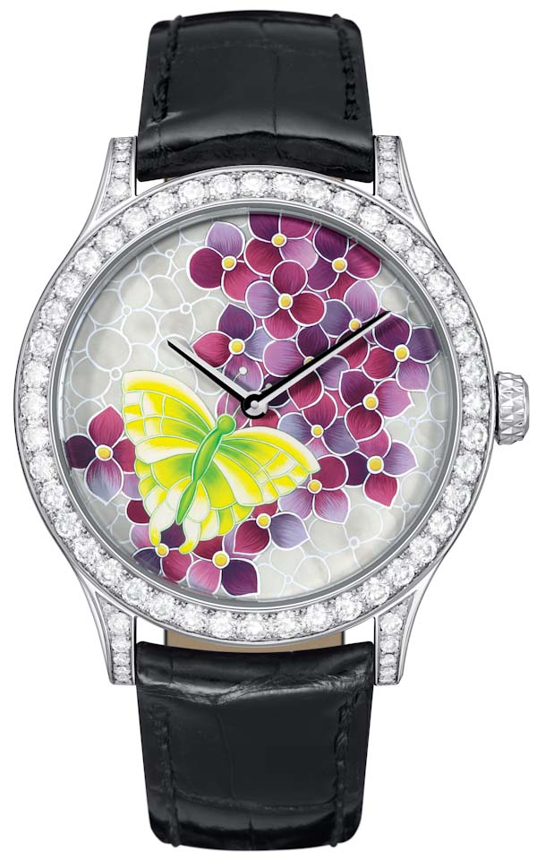 "Van Cleef & Arpels ""Art On The Dial"" Allows For Convenient Custom Watches Inside the Manufacture"