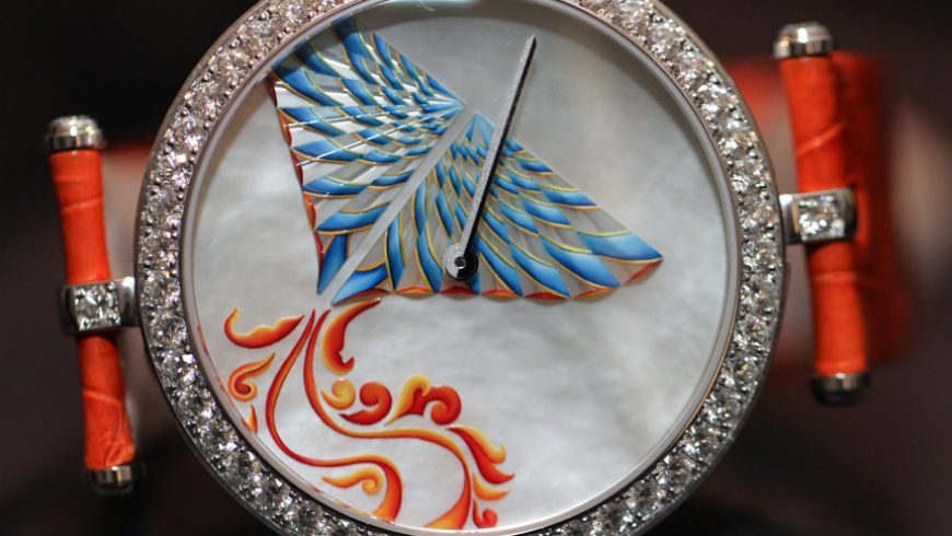 "Replica Suppliers Van Cleef & Arpels ""Cerfs-Volants"" Kites Watches Hands-On"