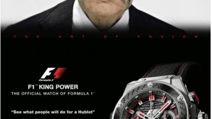 Replica For Sale Bernie's Exploitation Of A Robbery – Sponsored by Hublot
