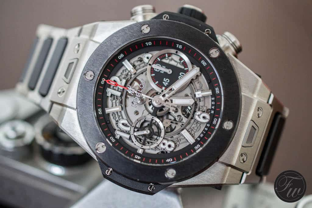 Swiss Movement Replica Watches Hublot Big Bang Unico Titanium Ceramic Hands-On Review