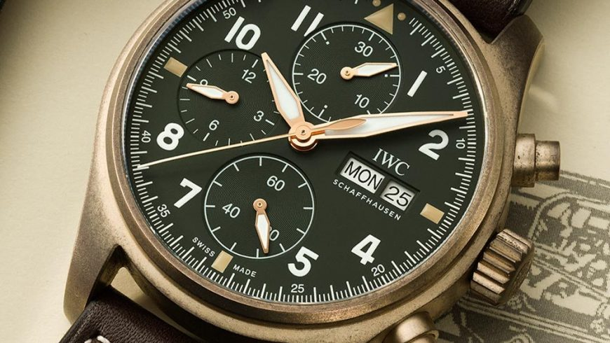 IWC Pilot's Chronograph Spitfire Bronze Luxury Replica Watches