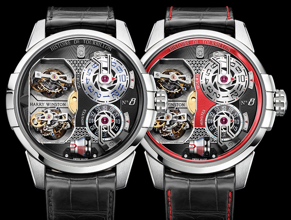 Harry Winston Histoire De Tourbillon 8 Watch